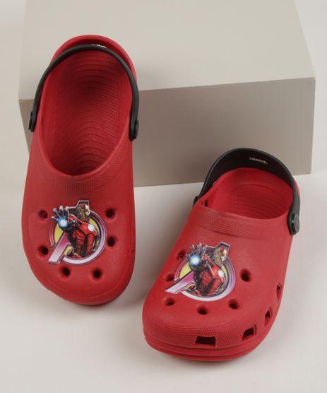Babuche-Infantil-Grendene-Homem-de-Ferro-Vermelha-9960968-Vermelho_1