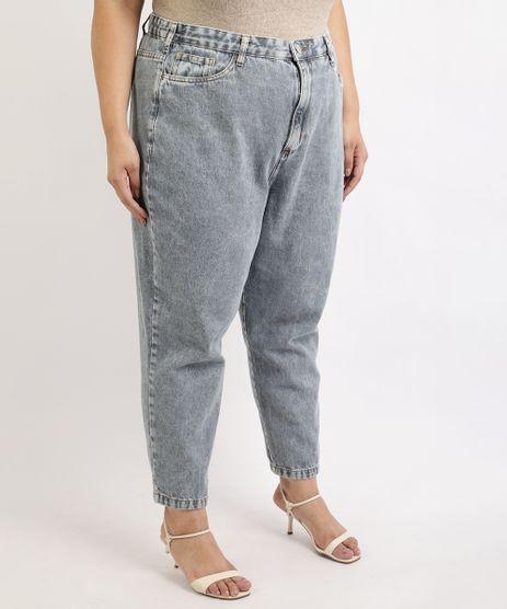 Calca-Jeans-Feminina-Mindset-Plus-Size-Slouchy-Cintura-Alta-com-Bolsos-Azul-Medio-9962189-Azul_Medio_1