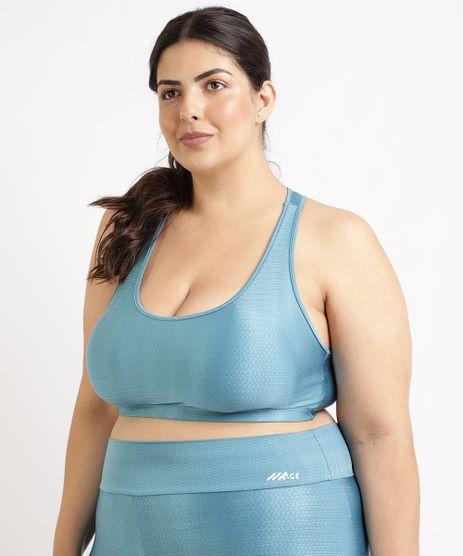 Top-Feminino-Plus-Size-Esportivo-Ace-Texturizado-com-Bojo-Removivel-Decote-Nadador-Azul-Claro-9955130-Azul_Claro_1