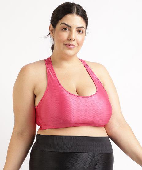 Top-Feminino-Plus-Size-Esportivo-Ace-Texturizado-com-Bojo-Removivel-Decote-Nadador-Pink-1-9955130-Pink_1_1