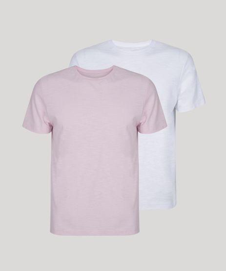 Kit-de-2-Camisetas-Masculinas-Basicas-Flame-Manga-Curta-Gola-Careca-Multicor-9962739-Multicor_1