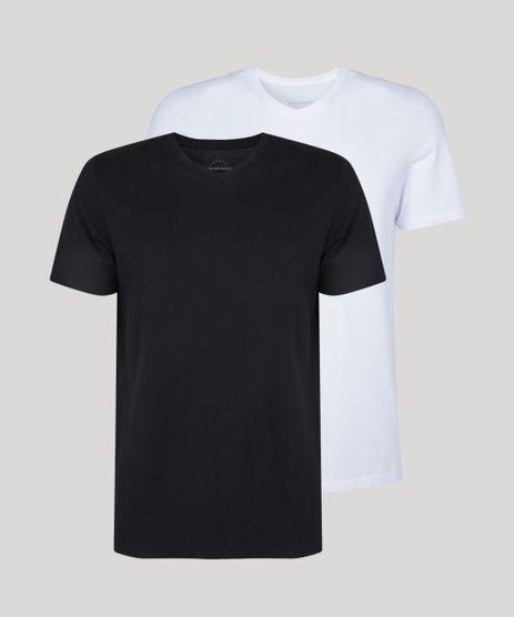 Kit-de-2-Camisetas-Masculinas-Basicas-Manga-Curta-Gola-V-Multicor-9962747-Multicor_1
