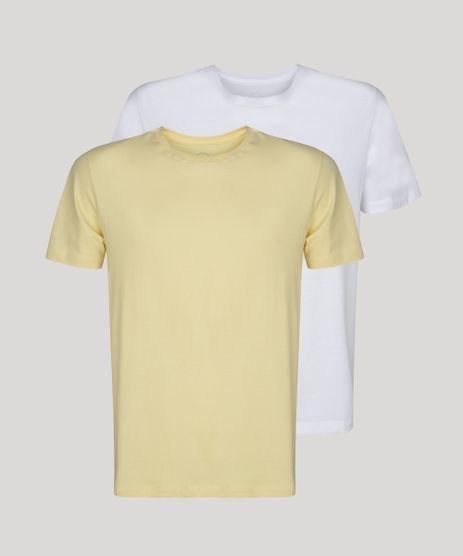 Kit-de-2-Camisetas-Masculinas-Basicas-Manga-Curta-Gola-Careca-Multicor-9962755-Multicor_1