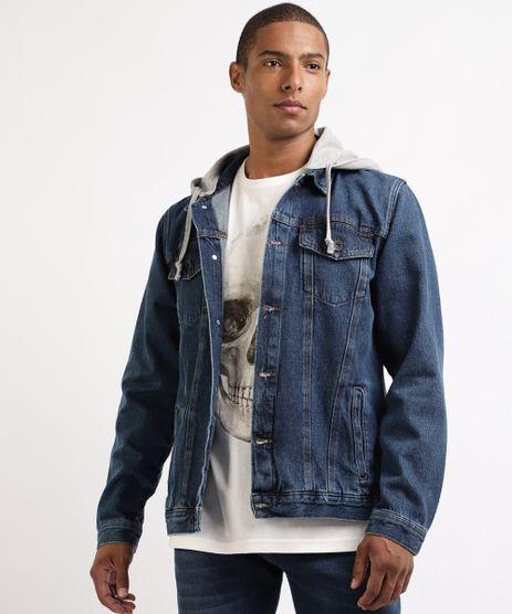 Jaqueta-Jeans-Masculina-Strong-com-Capuz-em-Moletom-Azul-Escuro-9961137-Azul_Escuro_1