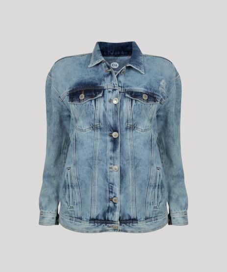 Jaqueta-Jeans-Feminina-Longa-com-Bolsos-Azul-Claro-9961219-Azul_Claro_4