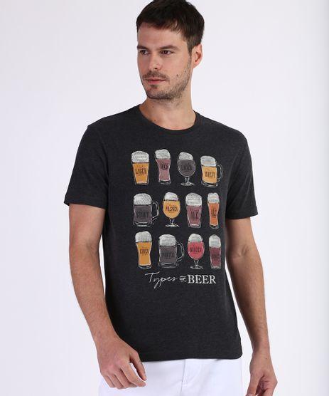 Camiseta-Masculina--Tipos-de-Cervejas--Manga-Curta-Gola-Careca-Cinza-Mescla-Escuro-9723691-Cinza_Mescla_Escuro_1