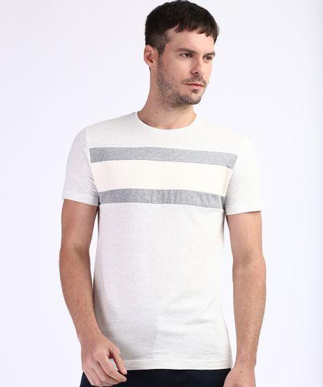 Camiseta-Masculina-Slim-Fit-com-Recorte-Manga-Curta-Gola-Careca-Branca-9963511-Branco_1