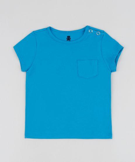 Camiseta-Infantil-Basica-com-Bolso-Manga-Curta-Azul-9961886-Azul_1