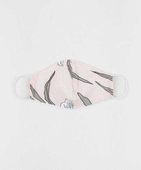 Mascara-de-Tecido-Reutilizavel-para-Protecao-Individual-Estampada-Floral-Rosa-Claro-9952508-Rosa_Claro_1