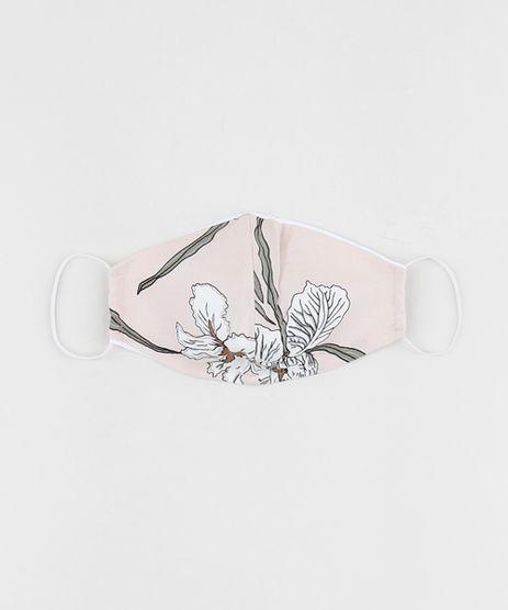Mascara-de-Tecido-Reutilizavel-para-Protecao-Individual-Estampada-Floral-Rosa-Claro-9952509-Rosa_Claro_1