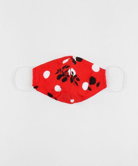 Mascara-de-Tecido-Reutilizavel-para-Protecao-Individual-Estampada-Poa-Vermelha-9953319-Vermelho_1