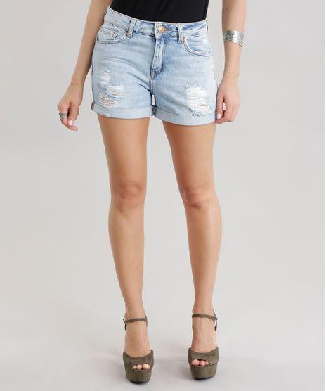 085ef55ec Short-Jeans-Reto-High-Azul-Claro-8701238-Azul Claro 1