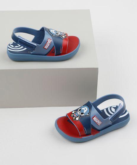 Sandalia-Papete-Infantil-Grendene-Marvel-Capitao-America-Estampado-Azul-Marinho-9957813-Azul_Marinho_1