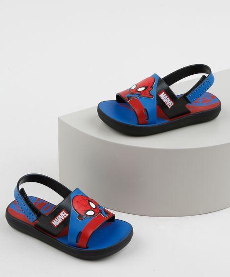 Sandalia-Papete-Infantil-Grendene-Marvel-Homem-Aranha-Estampado-Azul-9957812-Azul_1