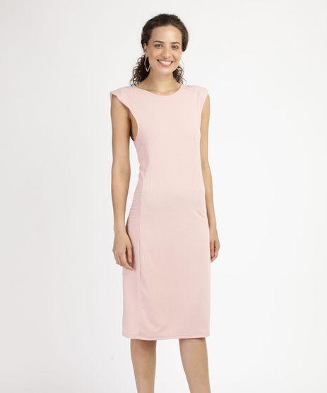 Vestido-Muscle-Dress-Feminino-Midi-Canelado-com-Ombreira-Sem-Manga-Rose-9959978-Rose_1