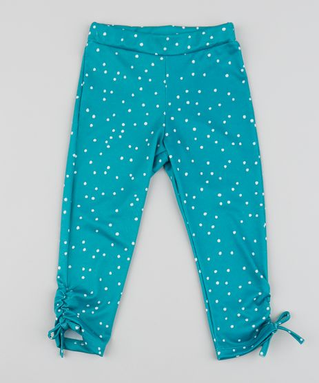 Calca-Legging-Infantil-Estampada-Poa-com-Barra-Franzida-Verde-Agua-9955898-Verde_Agua_1