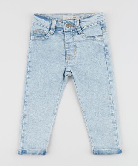Calca-Jeans-Infantil-Slim-com-Bolsos-Azul-Claro-9949486-Azul_Claro_1