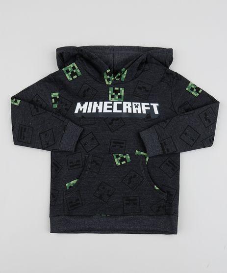 Blusao-de-Moletom-Infantil-Minecraft-Cinza-Mescla-Escuro-9948296-Cinza_Mescla_Escuro_1