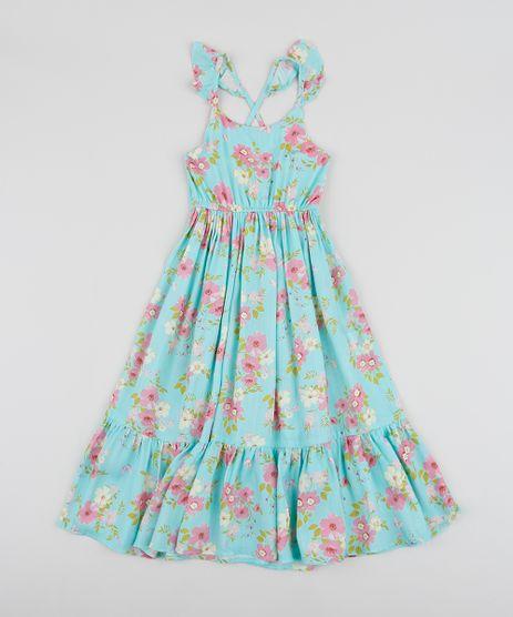 Vestido-Infantil-Longo-Estampado-Floral-Alcas-Cruzadas-Azul-9955576-Azul_1
