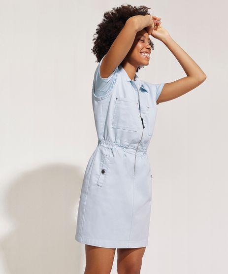 Vestido-Jeans-Feminino-Curto-com-Bolsos-e-Ziper-Gola-Esporte-Azul-Claro-9958765-Azul_Claro_1