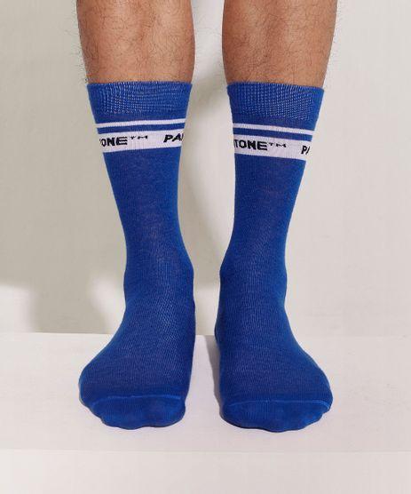 Meia-Masculina-Pantone-Cano-Alto-Azul-Escuro-9958966-Azul_Escuro_1