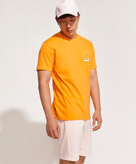 Camiseta-Masculina-Pantone-Manga-Curta-Gola-Careca-Laranja-9958968-Laranja_1