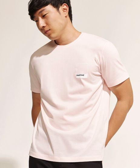 Camiseta-Masculina-Pantone-Manga-Curta-Gola-Careca-Rosa-Claro-9958968-Rosa_Claro_1