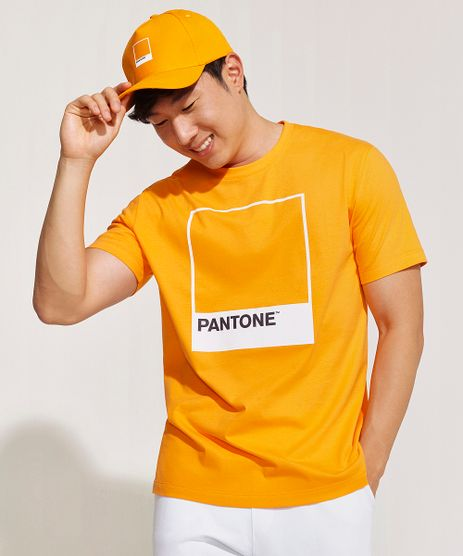 Camiseta-Masculina-Pantone-Manga-Curta-Gola-Careca-Laranja-9959148-Laranja_1