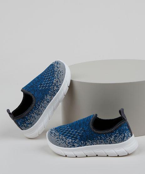 Tenis-Infantil-Molekinho-Knit-Calce-Facil-Texturizado-Azul-9965581-Azul_1