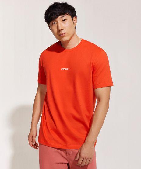 Camiseta-Masculina-Pantone-Manga-Curta-Gola-Careca-Vermelha-9958967-Vermelho_1