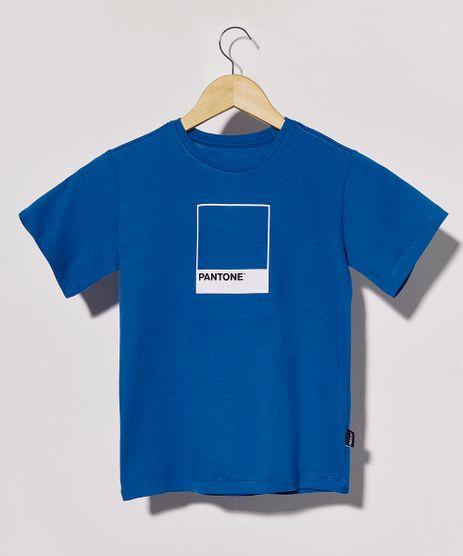 Camiseta-Infantil-Pantone-Manga-Curta-Azul-9956132-Azul_1