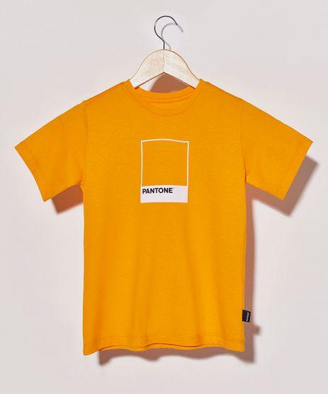 Camiseta-Infantil-Pantone-Manga-Curta-Laranja-9956256-Laranja_1