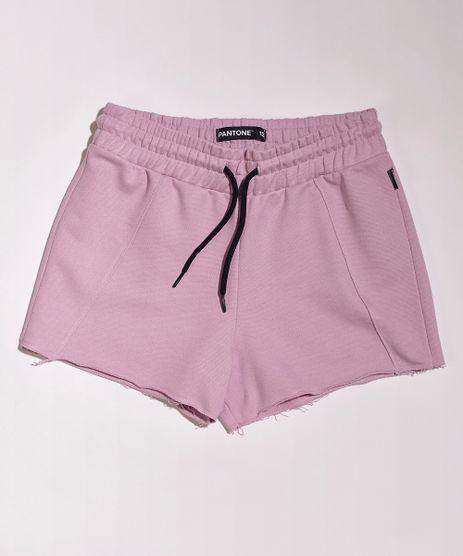 Short-de-Moletom-Juvenil-Pantone-Rosa-9957979-Rosa_1