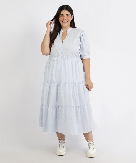 Vestido-Feminino-Plus-Size-Mindset-Midi-Estampado-Listrado-Manga-Curta-Azul-9958937-Azul_1