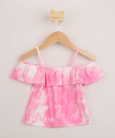 Blusa-Infantil-Open-Shoulder-Estampada-Tie-Dye-Manga-Curta-Rosa-9960935-Rosa_1