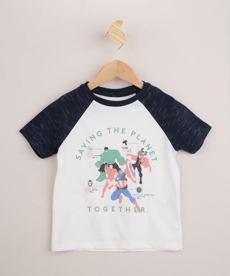 Camiseta-Infantil-Os-Vingadores-Raglan-Manga-Curta-Branca-9962477-Branco_1