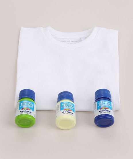Kit-Infantil-para-Tie-Dye--Faca-Voce-Mesmo--de-Camiseta-Manga-Curta-Branca---Tintas-Multicor-9963808-Multicor_1