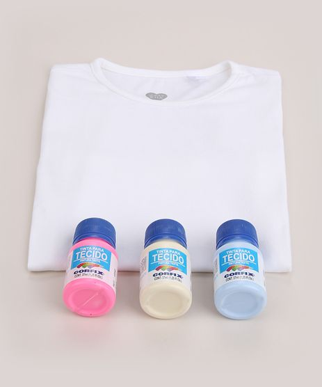 Kit-Infantil-para-Tie-Dye--Faca-Voce-Mesmo--de-Blusa-Manga-Curta-Branca---Tintas-Multicor-9964032-Multicor_1