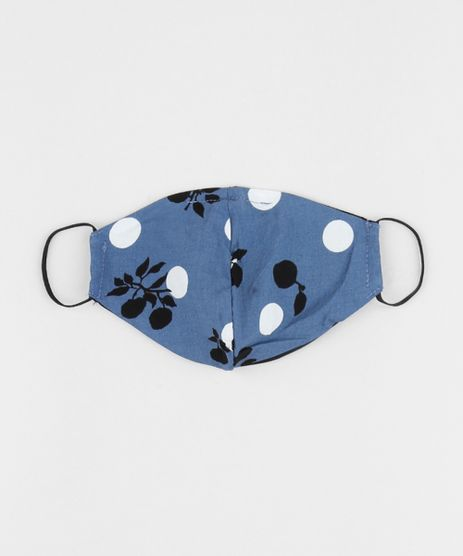 Mascara-de-Tecido-Reutilizavel-para-Protecao-Individual-Estampada-de-Frutas-Azul-9952501-Azul_1