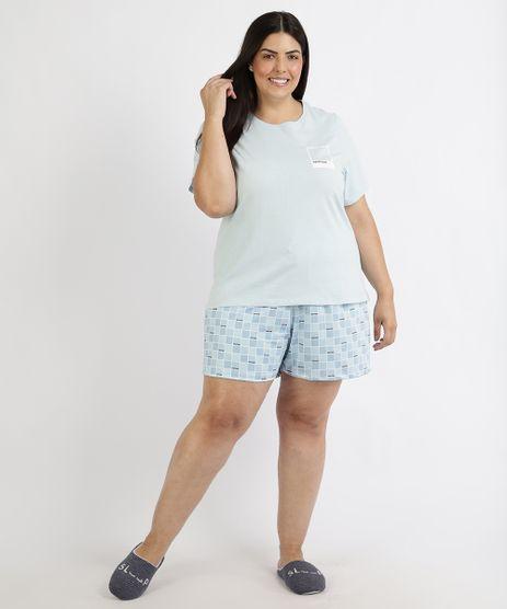 Pijama-Feminino-Plus-Size-Pantone-Blusa-Manga-Curta-Azul-Claro-9960365-Azul_Claro_1