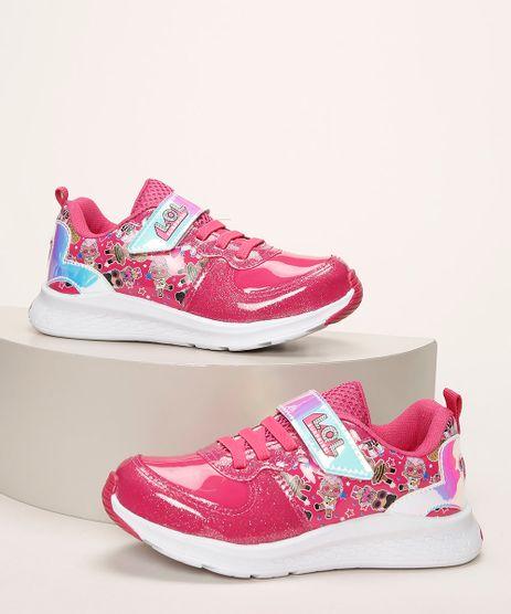 Tenis-Infantil-LOL-Surprise-com-Recorte-Brilhante-e-Cadarco-Pink-9962725-Pink_1
