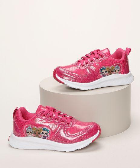 Tenis-Infantil-LOL-Surprise-com-Recorte-e-Glitter-Pink-9962727-Pink_1