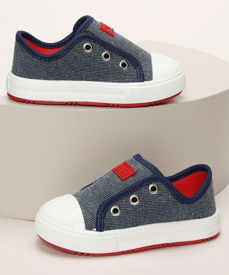 Tenis-Infantil-Pimpolho-Jeans-com-Recorte-Azul-Marinho-9966081-Azul_Marinho_1
