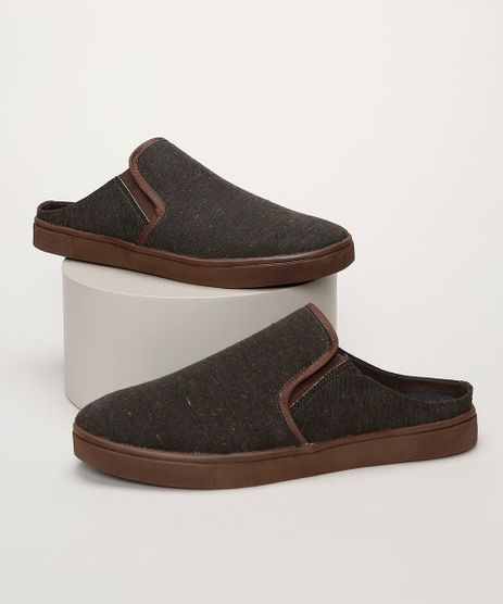 Tenis-Slip-On-Mule-Masculino-Oneself-Marrom-9964261-Marrom_1
