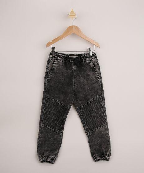 Calca-Jeans-Infantil-Jogger-Marmorizada-com-Cordao-Preta-9964309-Preto_1