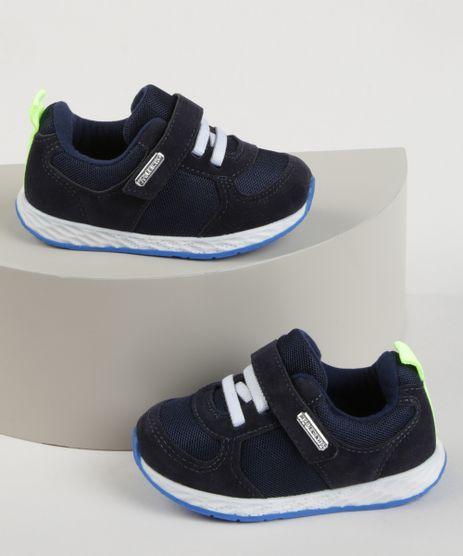 Tenis-Infantil-Molekinho-Esportivo-com-Velcro-e-Elastico-Azul-Marinho-9965585-Azul_Marinho_1