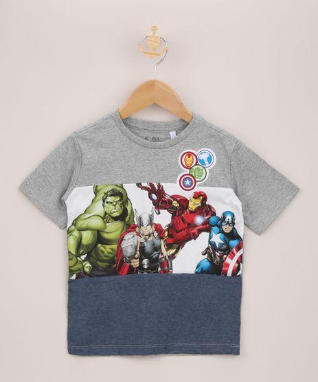 Camiseta-Infantil-Os-Vingadores-com-Recorte-Manga-Curta-Azul-9942971-Azul_1