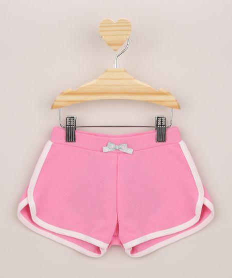 Short-Infantil-Running-Bicolor-Rosa-Escuro-9953628-Rosa_Escuro_1