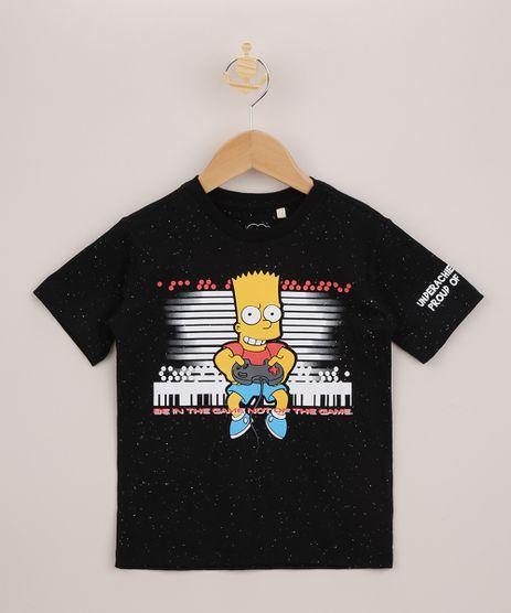 Camiseta-Infantil-Bart-Simpson-Manga-Curta-Preta-9955393-Preto_1