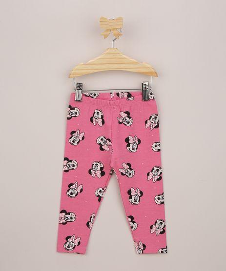 Calca-Legging-Infantil-Minnie-Estampada-de-Poa-Rosa-9958875-Rosa_1